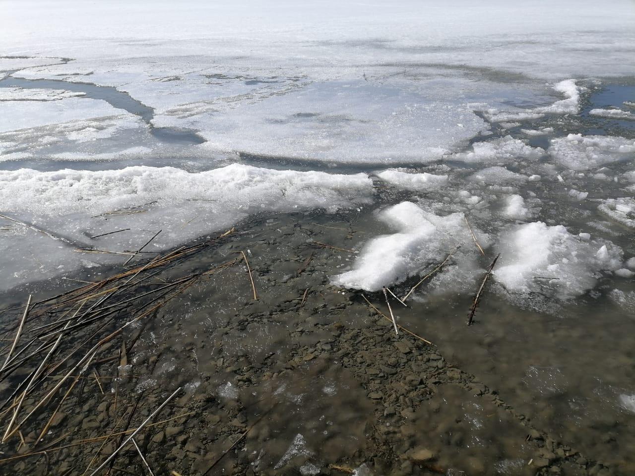Весенний лед опасен !